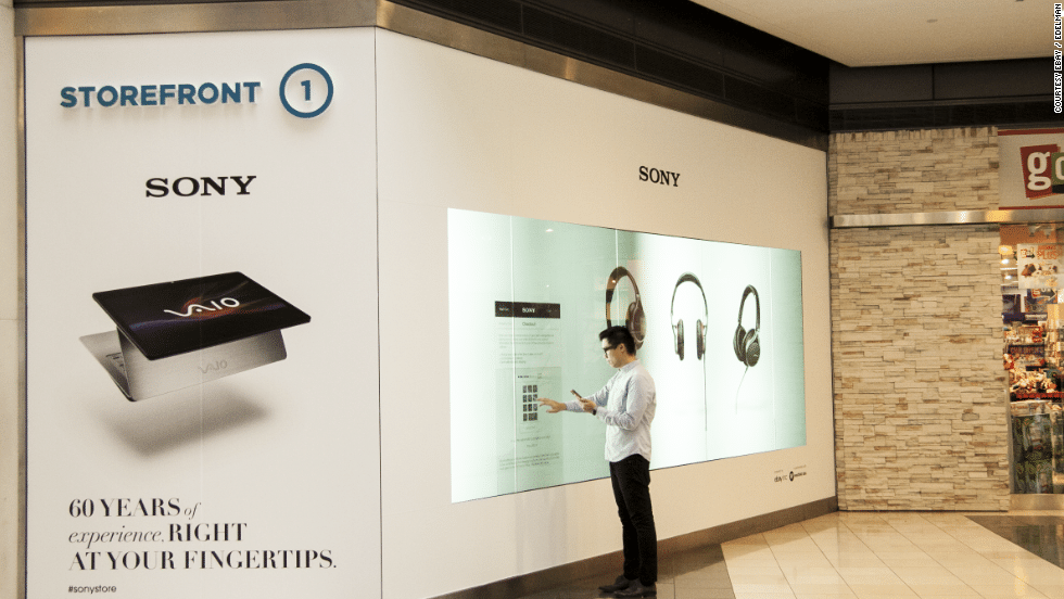 Shopping center interativo