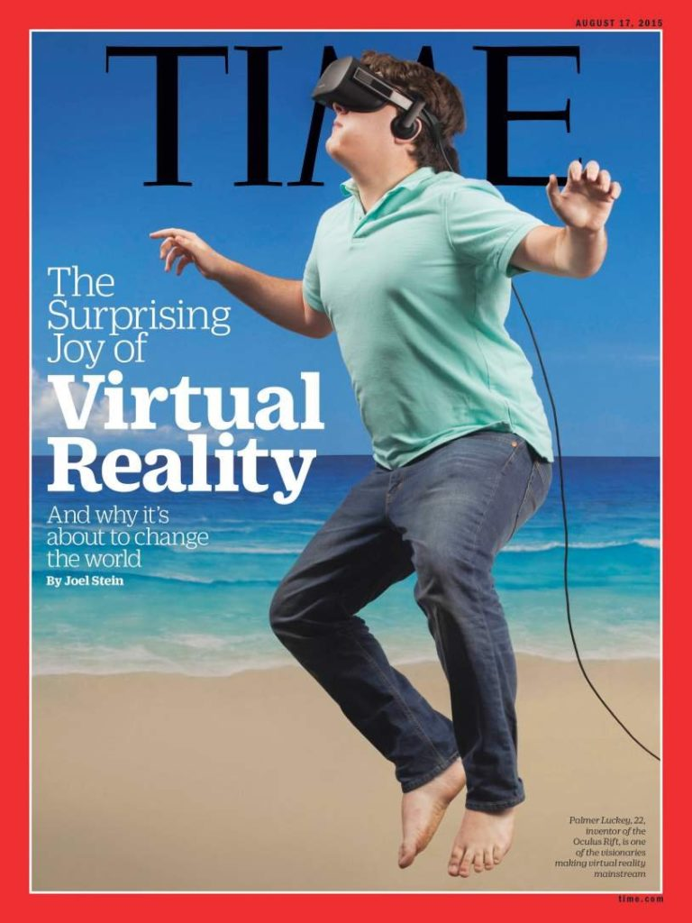 Capa Time Magazine - Virtual Reality